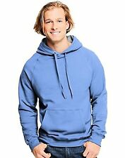 Hanes N270 Adult Nano Sweats Pullover Hoodie Sweatshirt - L- Choose SZ/Color.