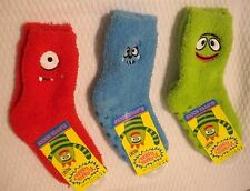 NEW Yo Gabba Gabba Fleece socks U Pick Character 4-6 Years Muno Brobee Toodee