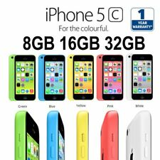 Apple iPhone 5C 8 16 32GB Factory Unlocked Smartphone Cell Phone - Colors US