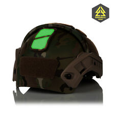 Combat Tactical Helmet-Mounted Glint Marker System Identification Friend Foe IFF