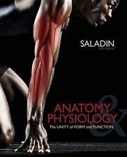 Anatomy and Physiology The Unity of Form and Function by Kenneth S. Saladin 6th
