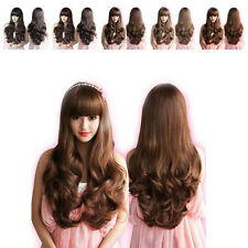 Cosplay Women's Long Wigs Fluffy Curly Wave Style Natural Full Wigs Fashion