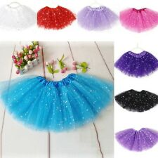 Cute Ballet Tutu Tulle Princess Dress Up Dance Wear Costume Party 2-7Y Baby Girl