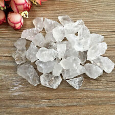 50g/100g Cute Natural White Quartz Crystal Stone Rock Chips Specimen Healing