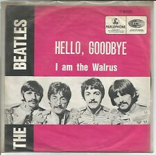 45T Beatles - Hello, Goodbye / I am the Walrus - Parlophone R 5655 - 1967