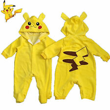 Pokemon Go Toddler Infant Baby Boy Girl Pikachu Outfit Jumpsuit Romper Playsuit