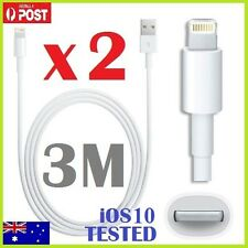 1M 3M USB Data Lightning Cable Charger for iPhone 5 6 6S 6Plus 7 iPad4 Air Mini