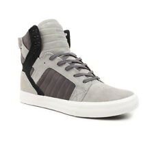 Supra Shoes Skytop High Top – Gradient Grey White