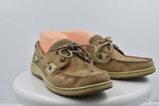 Sperry Top Sider Womens Tan Boat Shoes Sz 8 M Leather Flats Casual