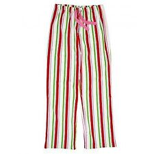 HATLEY HOLIDAY STRIPES WOMEN'S FLANNEL PJ BOTTOMS