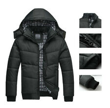 Fashion New 2016  Men's Warm Hoodie Parka Winter Coat Outwear Down Jacket
