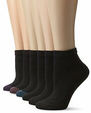 Hanes Womens Socks 681/6 Comfort Blend Ankle Sock 9-11- Choose SZ/Color.