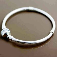 European Charms Chain Bracelet For Beads Silver Plated 15-23cm 1X 5X 10X Snake
