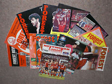 Nottingham Forest Home Programmes 1970s - 2000s Choose from list v