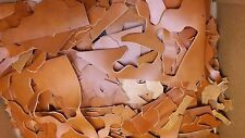 Leather Scraps - Leather Remnants - English Bridle Cowhide Scrap Leather