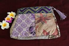 NEW Balinese Batik Make-Up Purse / Batik Accessories Bag - MANY COLOURS