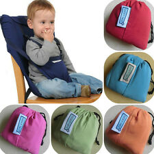 New Baby Kids Portable Seat High Chair Harness Infant Booster Seat Safety Belts
