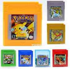 BEST GAME Pokemon Version For Game Boy Color Nintendo Game Cards English