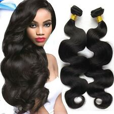 Body Wave Brazilian Virgin Hair 100% Human Hair Weave Extensions 1 Bundle 100g