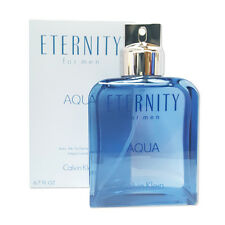 Eternity Aqua Calvin Klein 6.7 oz Men edt Cologne Sealed NIB!!!