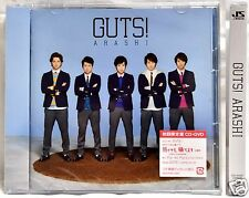 New ARASHI GUTS! JAPAN Ver CD DVD Limited Edtion w/ booklet In Stock F/S Johnnys