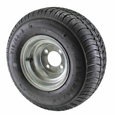 18.5X8.5-8 Loadstar Trailer Tire LRC on 4 Bolt Galvanized Wheel-AB819