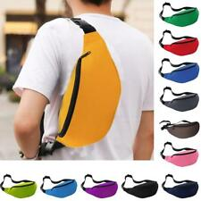 Unisex Running Money Belt Bum Waist Pouch Fanny Pack Travel Hiking Sport Zip Bag
