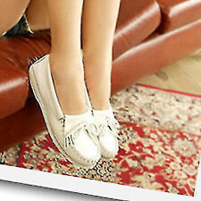 Womens Bowknot Round Toe Fashion Ballet Flats Shoes White Loafers 2015 New