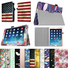 Folio Premium Vegan Leather Stand Case Magnetic Cover for Apple iPad Tablets