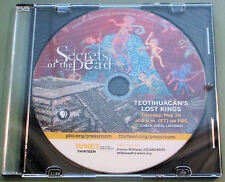 SECRETS OF THE DEAD~TEOTIHUACAN'S LOST KINGS~2016 PBS SPECIAL~DVD~ANCIENT CITY