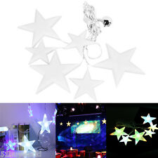 2M 60LED Star Fairy Curtain Light Indoor/Outdoor Xmas Christmas Party waterproof