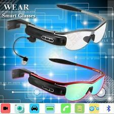 WIFI Bluetooth Smart Glasses 8G Video Camera Photo DVR Recorder For Android IOS