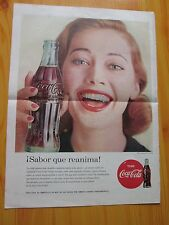 COCA-COLA  ADVERTISING 1948 PUBLISHED IN A LATIN AMERICAN MAGAZINE