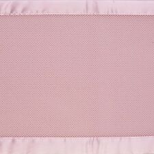 BreathableBaby Breathable Safer Bumper - Fits All Cribs - Pink. Free Delivery