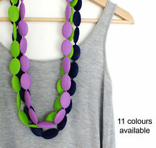 Silicone Teething Jewellery Bead Necklace for Mum & Baby Nursing Breastfeeding