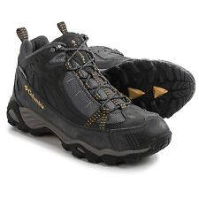 New Columbia mens Firelane Mid waterproof hiking trail shoes boots Gray 7 11 13