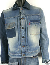 Levis Strauss Co Denim Jacket Customized Icon Levi's  Inspired By Vintage Icons