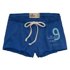 NEW HOLLISTER LOUNGE/ATHLETIC SHORT SHORTS for WOMEN * Blue * Size XS - S