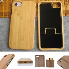 For iPhone 7/7 Plus Handmade Natural Bamboo Wood Hard Back Protective Case Cover
