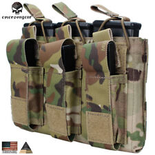 EMERSON Tactical 5.56 & Pistol Magazine Pouch Hunting MAG Bag MultiCam CP Army