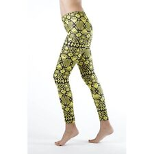 Dinamit Jeans Funky Yellow Tribal Ankle Leggings (See More Sizes)