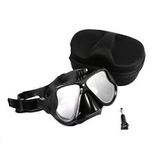 TELESIN Scuba Diving Mask Snorkeling Swimming Googles Glasses with Camera Mount