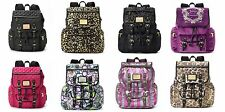 NEW! Juicy Couture Designer Backpack Travel Bag - 7 pockets! Laptop/BOOKS! NWT