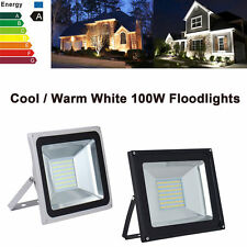 100W Warm/Cool White SMD LED Flood Light Outdoor Garden Landscape Spot Lamp 220V