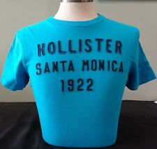 NEW MENS HOLLISTER S/S GRAPHIC T-SHIRT,TURQUOISE, PICK SIZE, ABERCROMBIE & FITCH