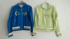 NWT COOGI S M OR L WOMEN'S NEON LIME GREEN OR BLUE WINDBREAKER JACKET   PICK