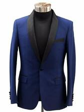Men's NAVY BLUE TUX SUIT JACKET TUXEDO - Best wool quality on market SUPER 200s!