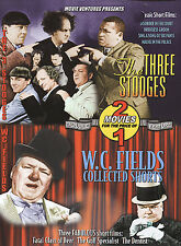 The Three Stooges/W.C. Fields Collected Shorts (DVD, 2004) *NEW*