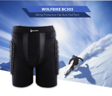 Unisex Bicycle Cycling Skateboard Padded Shorts Hip Butt Protective Pads Pant