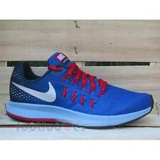 Shoes Nike Air Zoom Pegasus 33 GS 834316 402 Unisex Running Comfort Sport Blue-R